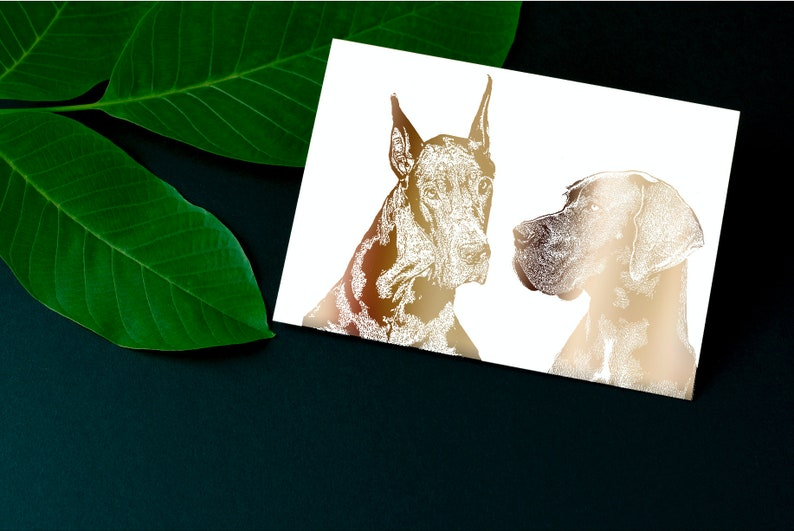 717f629352de Custom painting of pet Custom pet print Animal portrait | Etsy