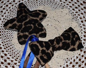 Leopard Wand and Bow Set
