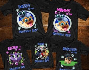 fd00afcff8c8f Puppy Dog Pals Birthday Shirts Customized Puppy Dog Pals Tshirt Disney  Birthday Shirts Puppy Dog Pals - Bingo and Rolly T-Shirt