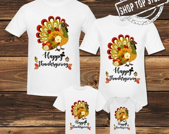9e57ec034 Thanksgiving Shirt Happy Thanksgiving Shirt Thanksgiving Family Shirt  Turkey Shirt