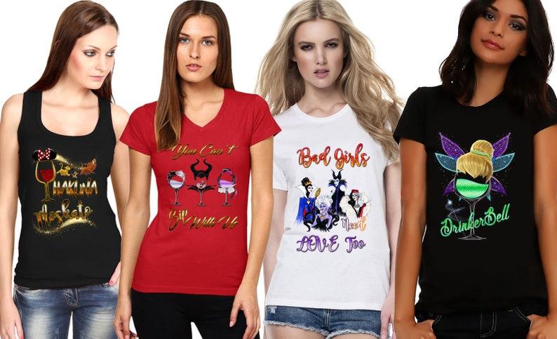 bcce886af7 Disney Princess Drinking Shirt Disney Shirt Epcot Food and   Etsy