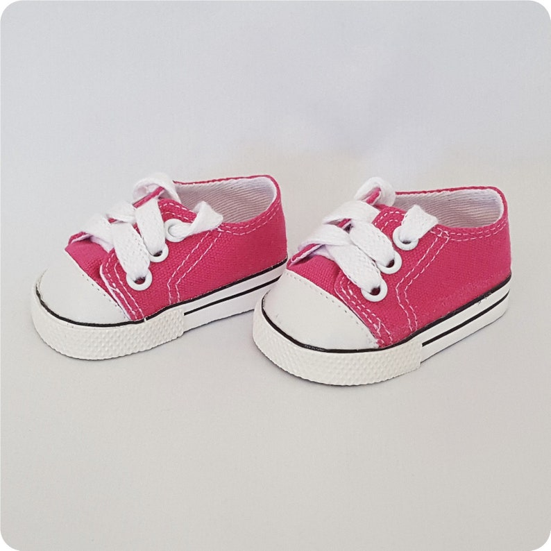 """Doll Clothes 18/"""" Sneakers Shoes Orange Sophia Fits American Girl Dolls"""