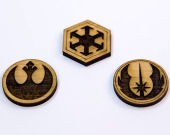 Star Wars Brooches
