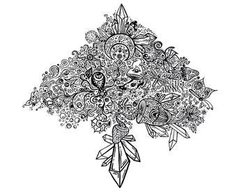 Crystal Tree of Life