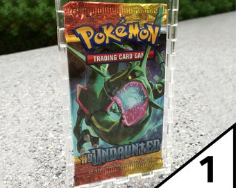 Pokemon Booster Box Acrylic Magnetic Case *PRE-ORDER* ALL Modern /& WOTC