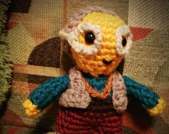 Maz Kanata Star Wars The Force Awakens The Last Jedi Crochet doll figure