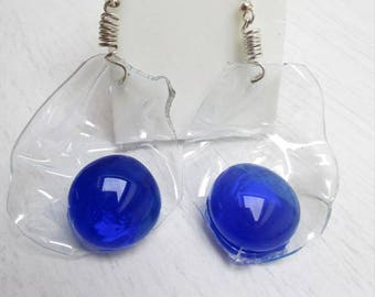 Transparent droplet Earrings