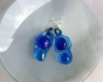 Droplet Earrings-2 beads