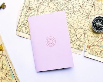 Crescent moon pocket notebook