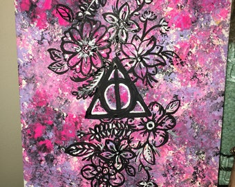 Deathly Hallows Painting