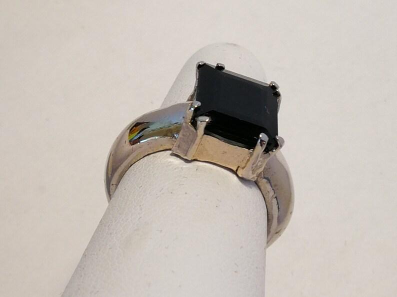 Black Tourmaline Ring