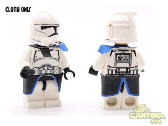 21 Pcs Star Wars Minifigure Clone Trooper Blue Commander Captain Rex Lego MOC