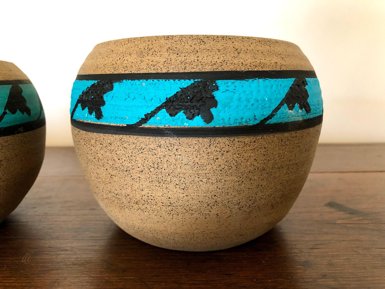 Vintage Plant Pot, Ceramic Plant Pots, Small Pots for Succulents, Small  Pots for Plants, Handmade Ceramic Plant Pots, Southwestern Pottery