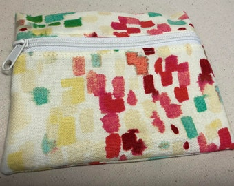 Small Notions Pouch - Colorful Impressions