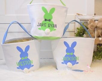 Purple1 Easter Egg Bunny Bucket for Kids Easter Baskets Easter Bunny Ears Bags