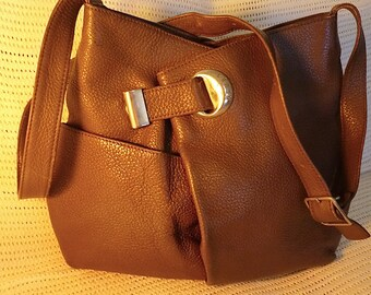Groom brown leather bag mint condition