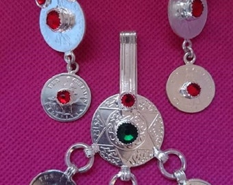 Earrings + sterling silver pure + gift
