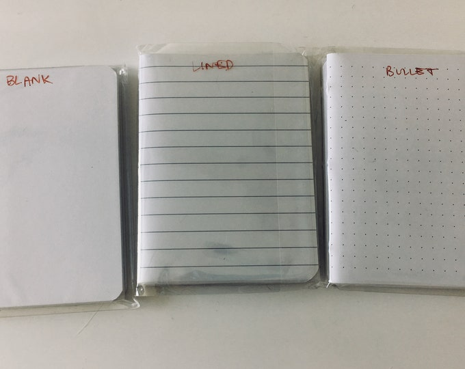 4X5 Field Journal Page Inserts