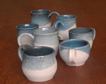 Dotted Airbrushed Mugs