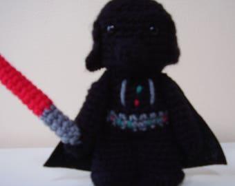 Star Wars Darth Vader Amigurumi Doll