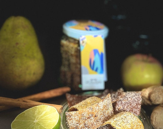 Natural fruit candy jar, pot mix of 3 tastes of L'AmiKette