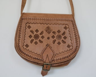 8c38f35ddd0 Leder Cross Body tas, schoudertas, Festival Bag, zomer tasje, Boho Bag,  Leather Purse, kleine Ledertasche, kleine leren tas, SAC en Cuir.