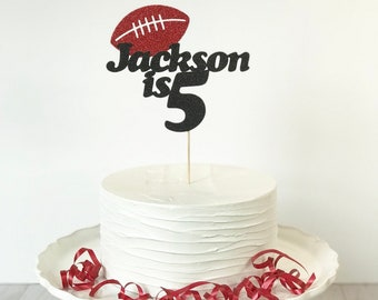 Personalized Football Cake Topper f0f6ef767