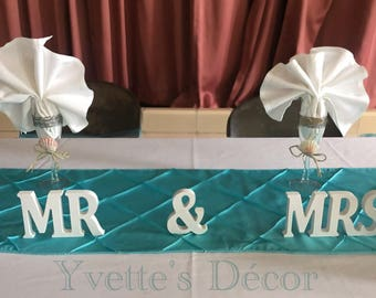 Champagne Glasses for the newly wed couple