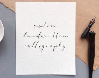 Hand typography | Etsy