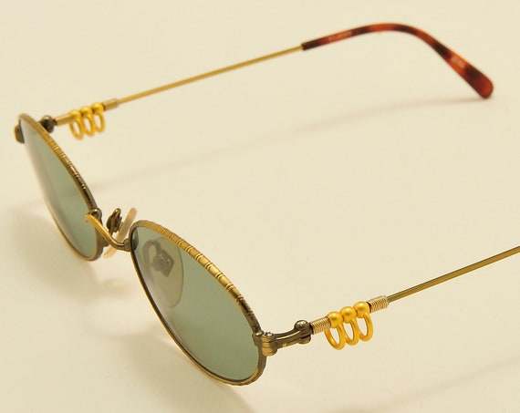 Jean Paul Gaultier 55- 5101 extravagant frame / oval shape / Made in Japan / NOS / 90s model / Vintage sunglasses