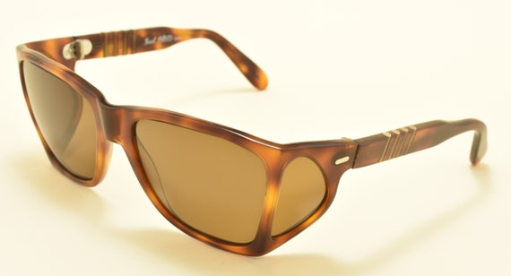 Persol 009 Meflecto Ratti / very rare 4 lenses frame / Made in Italy / 80s / Persol polarized lenses  / Vintage sunglasses