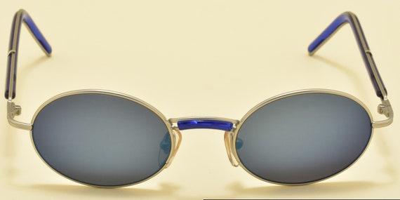 MISSONI by Safilo 391/S oval shape / acetate metal frame / 90s / NOS/ original mirror lenses / Vintage sunglasses