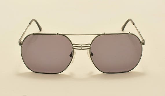 Christian Dior Monsieur 2363 squared shape / cool design / light metal frame / 80s / NOS / Made in Germany / Vintage sunglasses