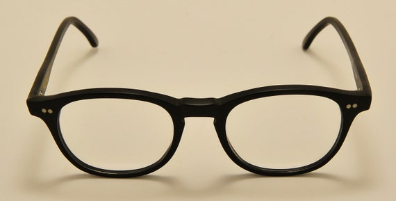 Kador M7007 classic shape / black mate acetate frame / NOS / 90S / handmade in Italy / elegant taste / Vintage eyeglasses