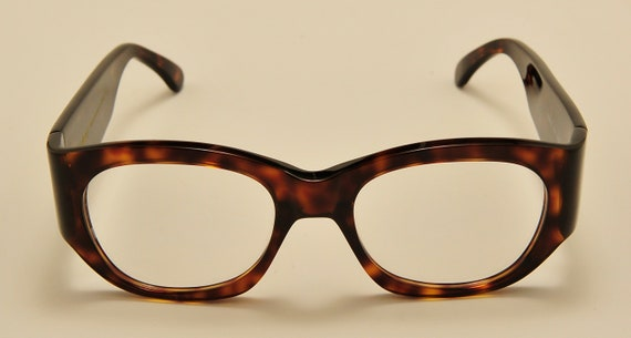 Kador 130 col.519 squared shape / acetate tortoise / NOS / 90S / handmade in Italy / really exclusive / Vintage eyeglasses