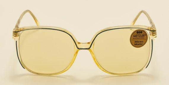 Metzler 1146 square oversized / optyl frame / 70s model / NOS / original photocromatic lenses / Made in Germany / Vintage sunglasses