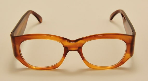 Kador 130 col.2503 squared shape / acetate frame / NOS / 90S / handmade in Italy / really exclusive / Vintage eyeglasses