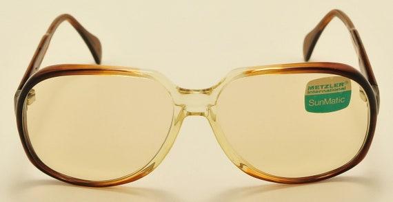 """Metzler """"SunDay 2074"""" photocromatic lenses / 70s model / NOS / Vintage sunglasses"""