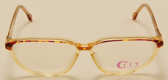 Zeiss 4722 classic shape / colors acetate frame / NOS / 80s / Made in Germany / Vintage eyeglasses