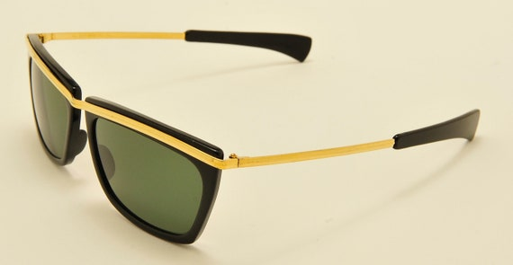 175f79532d3 Ray Ban B L Olympian II squared shape   black and gold frame