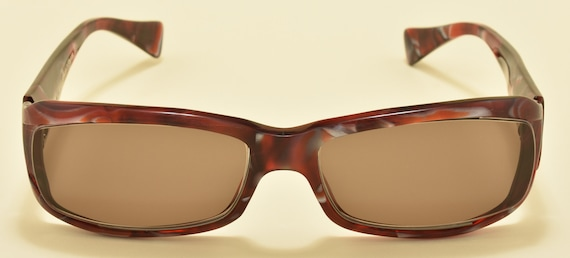 Alain Mikli AL094202 squared shape / amazing acetate frame / NOS / Hand made in France / Vintage sunglasses