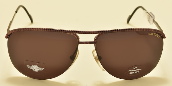 DAYTONA by Safilo 857 FV1 aviator pilot / metal frame / NOS / 90S / made in italy / original lenses / vintage sunglasses