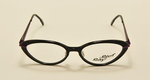 Robert Rudger 2220 cat eye shape / cellulose acetate frame / 80s model / NOS / demo lenses / Made in Austria / Vintage eyeglasses