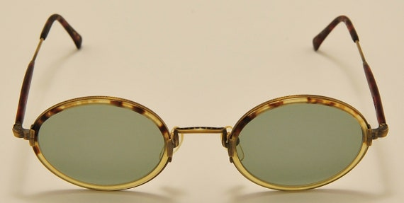 MATSUDA 2834 oval shape / light metal and acetate frame / elegant taste / fine details / Made in Japan / NOS / handmade / Vintage sunglasses