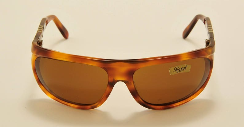 3d2a7a0df53a5 Persol Ratti 69600 shield shape   light havana   hand made in