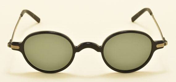 "Galileo ""Archivio C3"" col.2502 oval shape / acetate and metal frame / NOS / 90s / Made in italy / cool taste / Vintage sunglasses"
