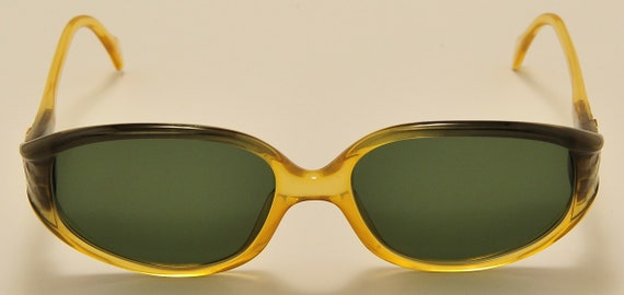 "Zeiss 1261 ""Yves Chantal"" squared shape / acetate frame / beautiful shading details / NOS / Made in West Germany / Vintage sunglasses"