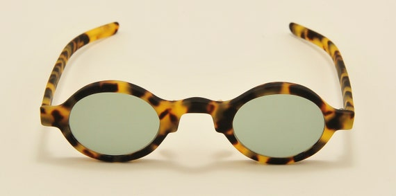"""Roy Tower """"Country 20"""" round shape / 80s model / NOS / Made in Italy / new lenses / Vintage sunglasses"""