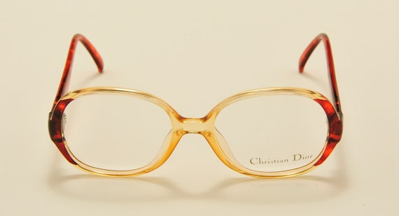 Christian Dior 2411 oval shape / optyl frame / 80s model / NOS / Made in Germany / Vintage eyeglasses