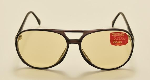 "Metzler International ""SunDay"" aviator classic shape / NOS / Made in West Germany / original photocromatic lenses / Vintage sunglasses"